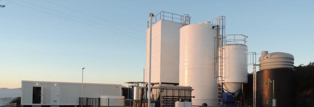 estação de tratamento de águas residuais